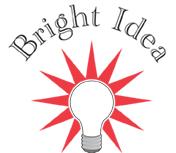 bright idea lightbulb graphic