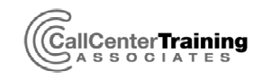 CCTA-logoCall Center Training Associates logo
